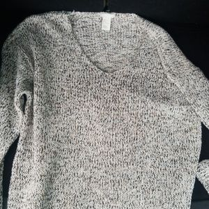 Womens brown H & M sweater